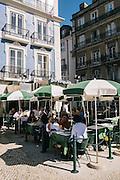O Pinóquio terrace on the Praça Restauradores.