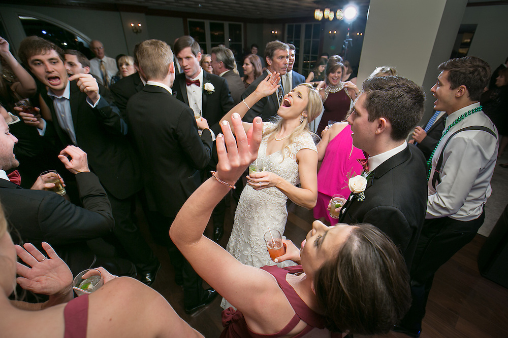 This is the wedding of Brooke Stephens and Kurt Brannon at Our Lady of the Rosary church in New Orleans.