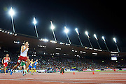 Artur Kuciapski from Poland competes in men's 400 meters Semi-Final during the Second Day of the European Athletics Championships Zurich 2014 at Letzigrund Stadium in Zurich, Switzerland.<br /> <br /> Switzerland, Zurich, August 13, 2014<br /> <br /> Picture also available in RAW (NEF) or TIFF format on special request.<br /> <br /> For editorial use only. Any commercial or promotional use requires permission.<br /> <br /> Photo by &copy; Adam Nurkiewicz / Mediasport