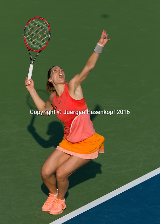 Andrea Petkovic (GER)<br /> <br /> Tennis - Dubai Tennis Championships 2016 -  WTA -  Dubai Duty Free Tennis Stadium - Dubai  -  - United Arab Emirates  - 15 February 2016.