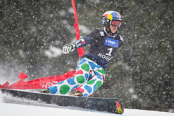 Roland Fischnaller (ITA) competes during Qualification Run of Men's Parallel Giant Slalom at FIS Snowboard World Cup Rogla 2016, on January 23, 2016 in Course Jasa, Rogla, Slovenia. Photo by Ziga Zupan / Sportida