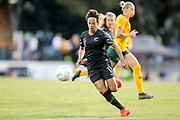 Sarah Gregorius on attack during the Cup of Nations Women's Football match, New Zealand Football Ferns v Matildas, Leichhardt Oval, Thursday 28th Feb 2019. Copyright Photo: David Neilson / www.photosport.nz
