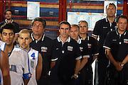 DESCRIZIONE : Porto San Giorgio 3&deg; Torneo Internazionale dell'Adriatico Italia-Slovacchia<br /> GIOCATORE : Fabrizio Frates Carlo Recalcati Andrea Billi Dino Meneghin Piccin<br /> SQUADRA : Nazionale Italiana Uomini Italia<br /> EVENTO : Porto San Giorgio 3&deg; Torneo Internazionale dell'Adriatico<br /> GARA : Italia Slovacchia<br /> DATA : 04/06/2007 <br /> CATEGORIA :<br /> SPORT : Pallacanestro <br /> AUTORE : Agenzia Ciamillo-Castoria/E.Castoria