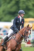 DHI LUPISON ridden by Holly Woodhead competing in the show jumping at Bramham International Horse Trials 2016 at  at Bramham Park, Bramham, United Kingdom on 12 June 2016. Photo by Mark P Doherty.
