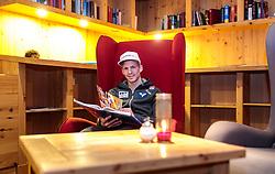 18.01.2018, Team Hotel, Oberstdorf, GER, FIS Skiflug Weltmeisterschaft, im Bild Michael Hayboeck (AUT) // Michael Hayboeck of Austria before the FIS Ski Flying World Championships at the Team Hotel in Oberstdorf, Germany on 2018/01/18. EXPA Pictures © 2018, PhotoCredit: EXPA/ JFK