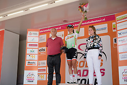 Kasia Niewiadoma (Rabo Liv) also leads the points classification after the 123 km Stage 3 of the Boels Ladies Tour 2016 on 1st September 2016 in Sittard Geleen, Netherlands. (Photo by Sean Robinson/Velofocus).