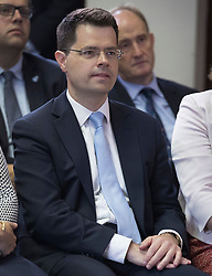 © Licensed to London News Pictures. 30/06/2016. London, UK. Immigration Minister James Brokenshire attends as Theresa May launches her leadership bid. Boris Johnson is expected to launch his campaign later today.Photo credit: Peter Macdiarmid/LNP