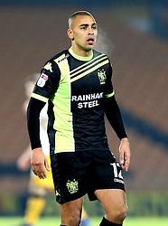 James Vaughan of Bury - Mandatory by-line: Robbie Stephenson/JMP - 20/01/2017 - FOOTBALL - Vale Park - Stoke-on-Trent, England - Port Vale v Bury - Sky Bet League One