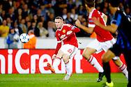 26-08-2015 VOETBAL:CLUB BRUGGE-MANCHESTER UNITED:BRUGGE<br /> Champions League 2015-2016<br /> <br /> Wayne Rooney van Manchester United <br /> <br /> Foto: Geert van Erven