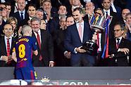 Barcelona Wins The Copa Del Rey - 22 April 2018