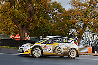 #2 Graham Coffey / Victoria Myers Ford Fiesta WRC Bolton-le-Moors Graham Coffey & Co Solicitorsduring Neil Howard Memorial Stage Rally, and opening round of the 2015 Motorsport News Rally Championship.  at Oulton Park, Little Budworth, Cheshire, United Kingdom. November 07 2015. World Copyright Peter Taylor. Copy of publication required for printed pictures.  Every used picture is fee-liable. http://archive.petertaylor-photographic.co.uk