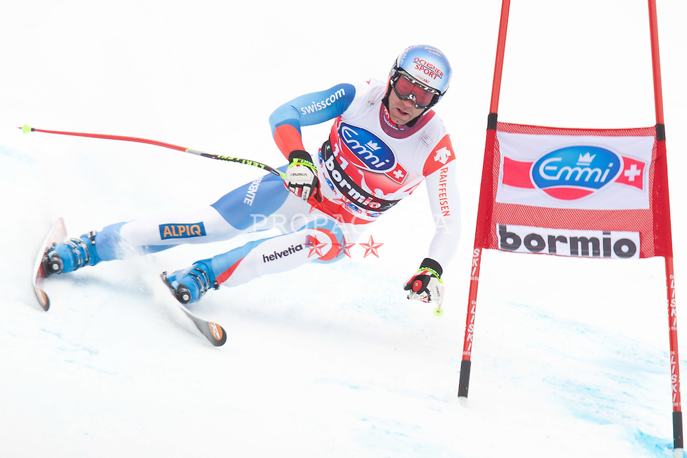 29.12.2011, Pista Stelvio, Bormio, AUT, FIS Weltcup Ski Alpin, Herren, Abfahrt, im Bild Didier Defago (SUI) // Didier Defago of Switzerland in Action during downhill race of FIS Ski Alpine World Cup at 'Pista Stelvio' in Bormio, Italy on 2011/12/29. EXPA Pictures © 2011, PhotoCredit: EXPA/ Johann Groder