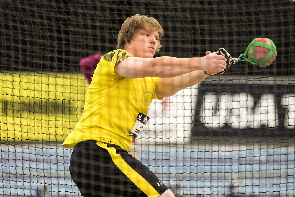 USATF Indoor Track & Field Championships: mens weight throw, James Lambert