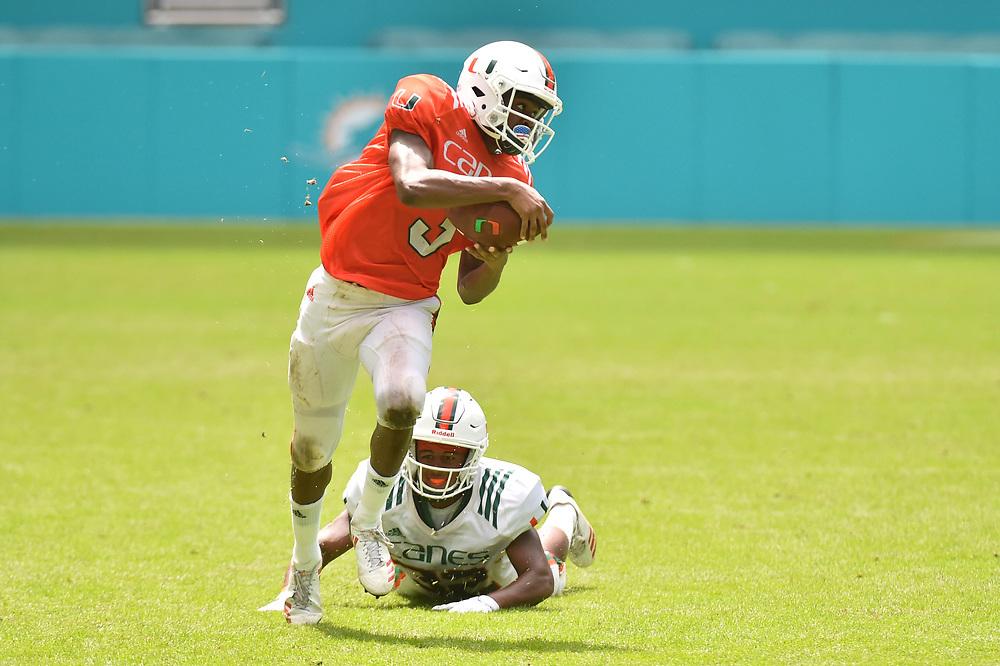 2017 Miami Hurricanes Football Canesfest Scrimmage