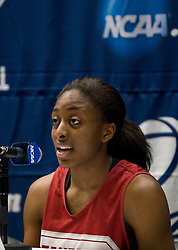 March 19, 2010; Stanford, CA, USA;  Stanford Cardinal forward Nnemkadi Ogwumike (30) before the first round game of the 2010 NCAA Womens Division I Championship at Maples Pavilion.