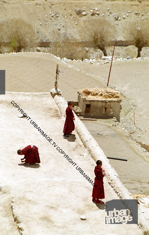 Ladakh Himalayas - Buddhist Monks 2006