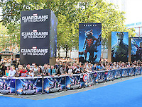 Guardians of the Galaxy - European Film Premiere, Leicester Square, London UK, 24 July 2014, Photo by Richard Goldschmidt