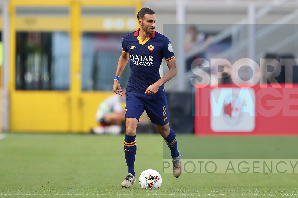 AS Roma's Italian defender Davide Zappacosta during the Serie A match at Giuseppe Meazza, Milan. Picture date: 28th June 2020. Picture credit should read: Jonathan Moscrop/Sportimage
