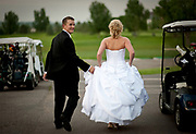 Michael and Stephanie wedding at Ptarmigan Country Club photo by Aspen Photo and Design