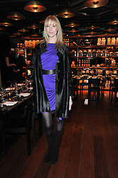 JADE PARFITT at a dinner in honour of Andre Leon Talley and Manolo Blahnik held at The Spice Market restaurant at<br /> W London, Leicester Square, London on 14th March 2011.