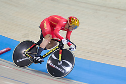 March 2, 2019 - Pruszkow, Poland - Xu Chao of China competes in the Men's sprint qualifying race on day four of the UCI Track Cycling World Championships held in the BGZ BNP Paribas Velodrome Arena on March 02 2019 in Pruszkow, Poland. (Credit Image: © Foto Olimpik/NurPhoto via ZUMA Press)
