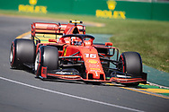 ALBERT PARK, VIC - MARCH 15: Scuderia Ferrari Mission Winnow driver Charles Leclerc (16) at The Australian Formula One Grand Prix on March 15, 2019, at The Melbourne Grand Prix Circuit in Albert Park, Australia. (Photo by Speed Media/Icon Sportswire)