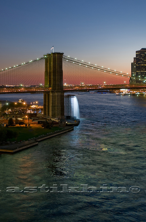 Sunset on East River