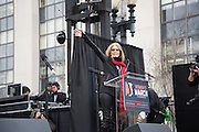 GLORIA STEINEM, Womens's March on  Washington DC. 21 January 2017