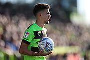 Forest Green Rovers Liam Shephard(2) during the EFL Sky Bet League 2 match between Forest Green Rovers and Cheltenham Town at the New Lawn, Forest Green, United Kingdom on 20 October 2018.