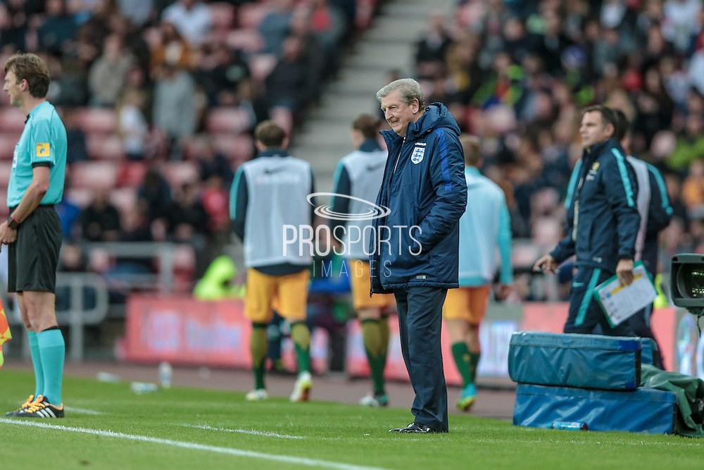 Roy Hodgson (England) during the Friendly International match match between England and Australia at the Stadium Of Light, Sunderland, England on 27 May 2016. Photo by Mark P Doherty.