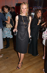 TAMZIN GREENHILL at a party hosted by Elizabeth Saltzman and Harvey Nichols to celebrate the UK launch of New York fashion designer Tory Burch held at the Fifth Floor Restaurant, Harvey Nichols, Knightsbridge, London on 24th May 2006.<br /><br />NON EXCLUSIVE - WORLD RIGHTS