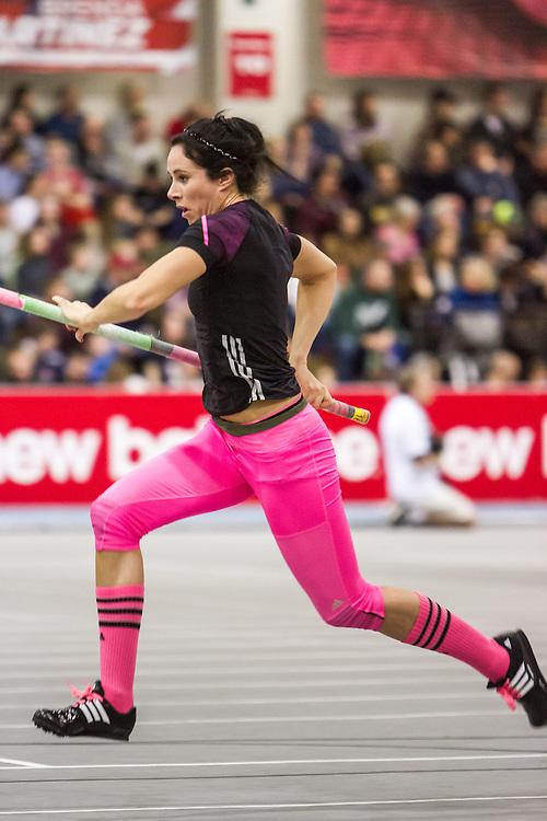 New Balance Indoor Grand Prix Track & FIeld:  women's pole vault Jenn Suhr