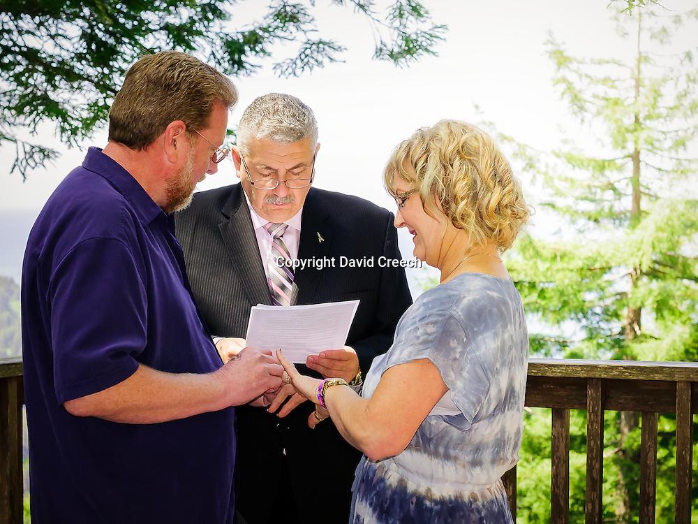 Redwood Wedding