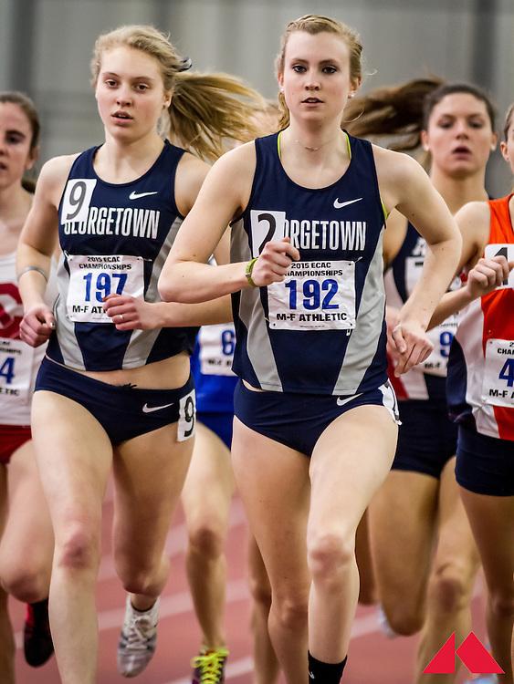 women's mile, heat 3, Maag, Annamarie           JR, Weisner, Kennedy FR Georgetown