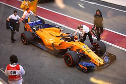 March 6, 2018 - Barcelona, Spain - Testvecka 2, Formel 1, Barcelona ..McLaren hade problem hela dagen (Credit Image: © JerrevÃ…Ng Stefan/Aftonbladet/IBL via ZUMA Wire)