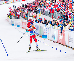 02.03.2019, Seefeld, AUT, FIS Weltmeisterschaften Ski Nordisch, Seefeld 2019, Langlauf, Damen, Massenstart 30 km, im Bild Therese Johaug (NOR) // Therese Johaug of Norway during the ladie's Mass start 30 km competition of the FIS Nordic Ski World Championships 2019. Seefeld, Austria on 2019/03/02. EXPA Pictures © 2019, PhotoCredit: EXPA/ Stefan Adelsberger