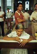 El Salvador. Mgr Romero tumb and altar cathedrale of san salvador      / cathedrale de san Salvador.autel de monseigneur Romero    Salvador  / SALV34032 4