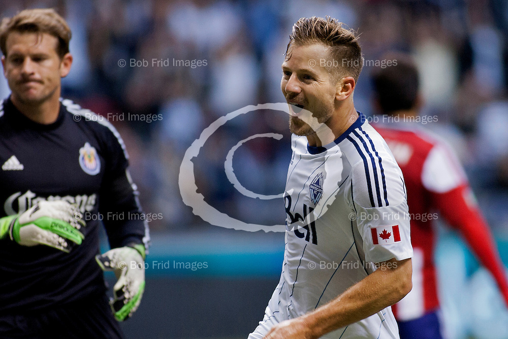 19 June 2013:   Action during a game between Vancouver Whitecaps FC and Chivas USA on Bell Pitch at BC Place Stadium in Vancouver, BC, Canada. ****(Photo by Bob Frid - Vancouver Whitecaps 2013 - All Rights Reserved)***