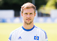 German Soccer Bundesliga 2015/16 - Photocall of Hamburger SV on 15 July 2015 in Hamburg, Germany: Matti Steinmann