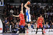 DESCRIZIONE : Sassari LegaBasket Serie A 2015-2016 Dinamo Banco di Sardegna Sassari - Giorgio Tesi Group Pistoia<br /> GIOCATORE : Joe Alexander<br /> CATEGORIA : Tiro Tre Punti Three Point Controcampo<br /> SQUADRA : Dinamo Banco di Sardegna Sassari<br /> EVENTO : LegaBasket Serie A 2015-2016<br /> GARA : Dinamo Banco di Sardegna Sassari - Giorgio Tesi Group Pistoia<br /> DATA : 27/12/2015<br /> SPORT : Pallacanestro<br /> AUTORE : Agenzia Ciamillo-Castoria/C.Atzori