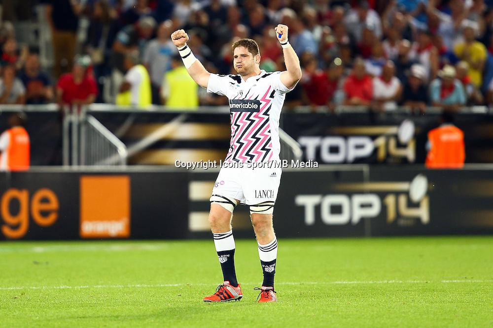 Joie Pascal Pape - 05.06.2015 - Toulon / Stade Francais - 1/2Finale Top 14 -Bordeaux<br />Photo : Manuel Blondeau / Icon Sport