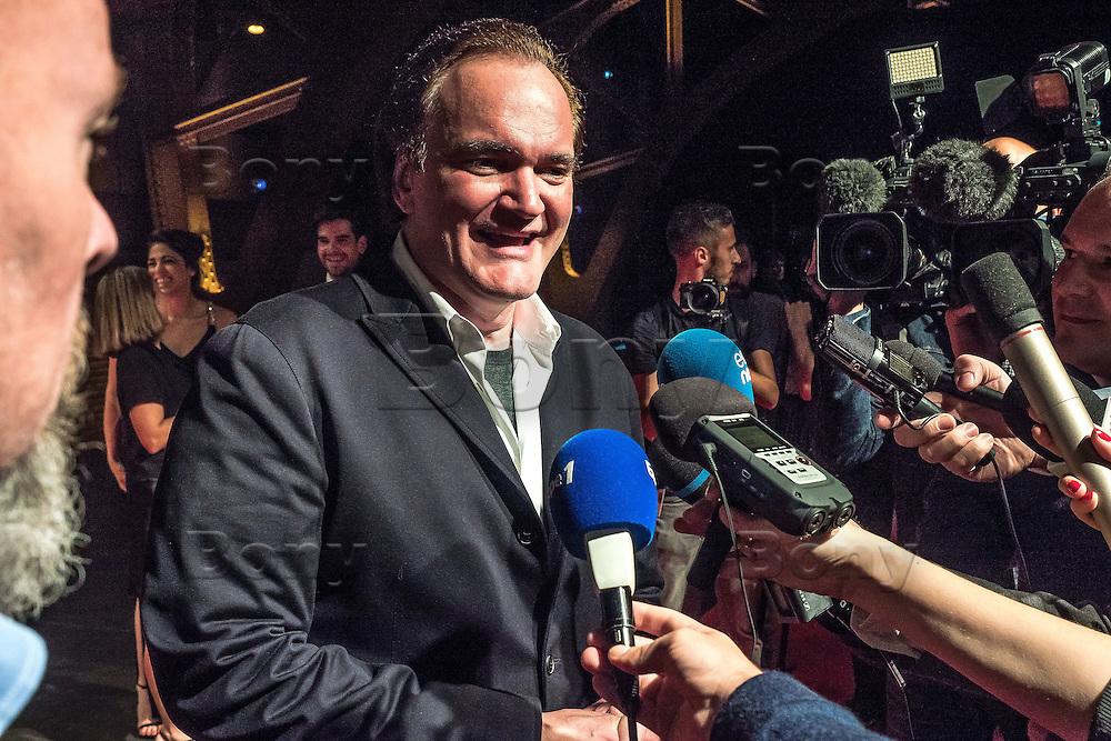 Quentin Tarantino <br /> Lyon 8 oct 2016 - Festival Lumi&egrave;re 2016 - C&eacute;r&eacute;monie d&rsquo;Ouverture<br /> 8th Film Festival Lumiere In Lyon : Opening Ceremony