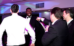 Daniel Edozie of Bristol Flyers takes to the dance floor at Bristol Sport's Annual Gala Dinner at Ashton Gate Stadium - Mandatory by-line: Robbie Stephenson/JMP - 08/12/2016 - SPORT - Ashton Gate - Bristol, England  - Bristol Sport Gala Dinner