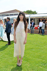 ZARA MARTIN at the Audi International Polo at Guards Polo Club, Windsor Great Park, Egham, Surrey on 26th July 2014.