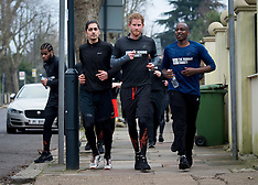 London Prince Harry Visits Homeless Hostel With The Running Charity - 26 Jan 2017