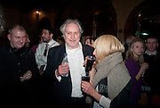 NICK ALLOTT, Opening night of Singing in the Rain. Palace Theatre. Cambridge Circus. London. 15 February 2012.