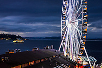 Seattle Great Wheel & Elliott Bay