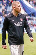 Michael Devlin of Aberdeen FC during the Ladbrokes Scottish Premiership match between Rangers and Aberdeen at Ibrox, Glasgow, Scotland on 27 April 2019.
