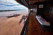 Laos, Champasak province. Vat Phou Cruise.