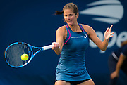 Julia Goerges of Germany in action during the first round of the 2018 US Open Grand Slam tennis tournament, New York, USA, August 27th 2018, Photo Rob Prange / SpainProSportsImages / DPPI / ProSportsImages / DPPI